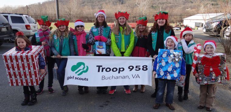 Buchanan Va Christmas Parade 2020 Buchanan Girl Scout Troop 958 takes home 3rd place in Christmas