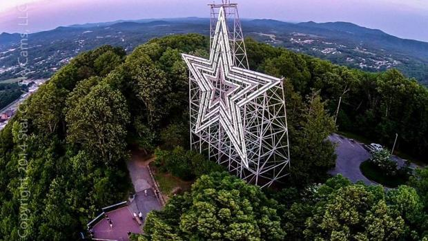Car Rental Roanoke Va: Readers Celebrate The Mill Mountain Star