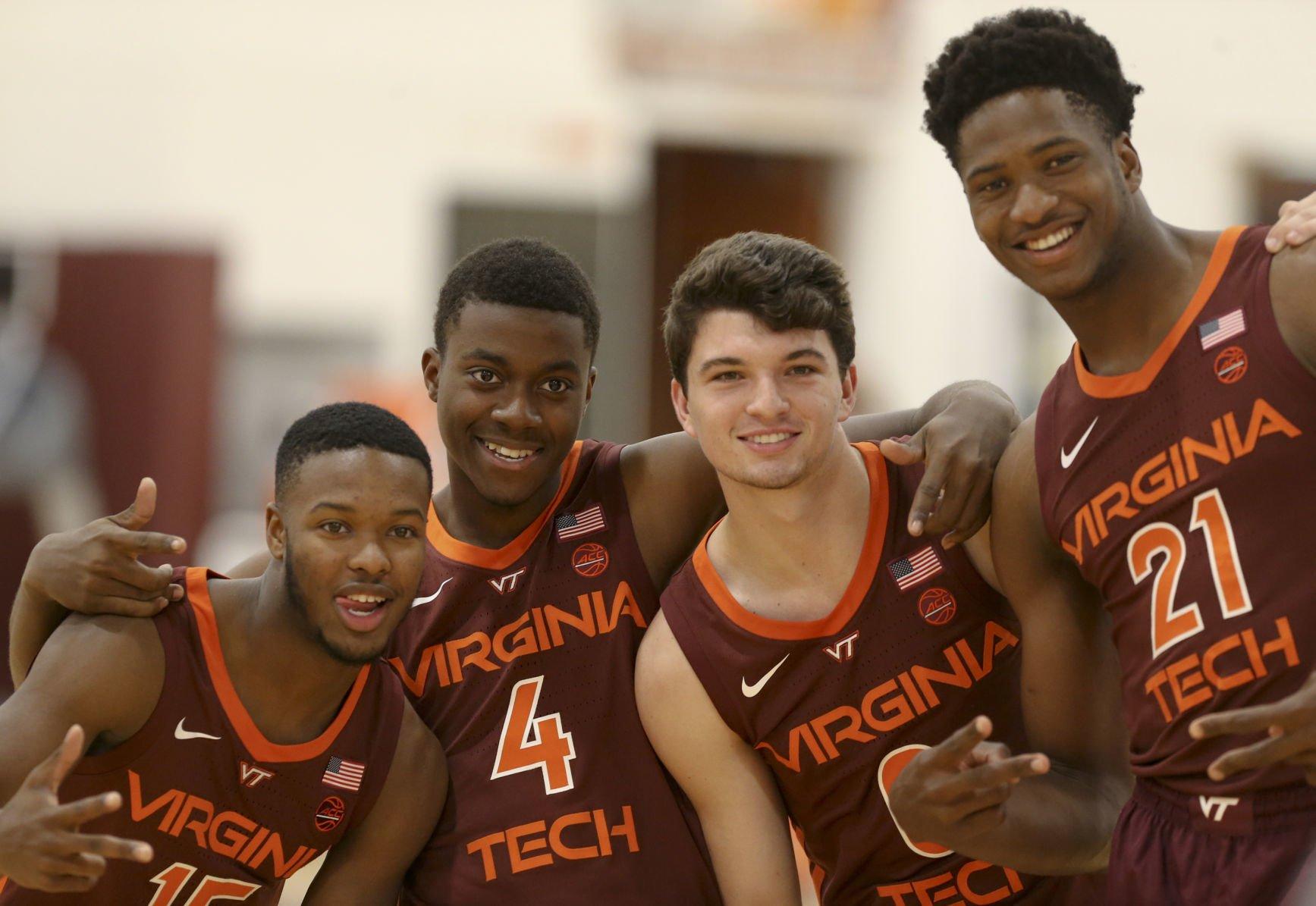 virginia tech basketball jersey
