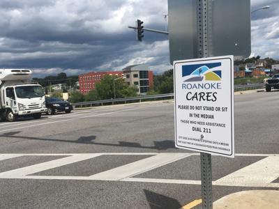 median signs in Roanoke