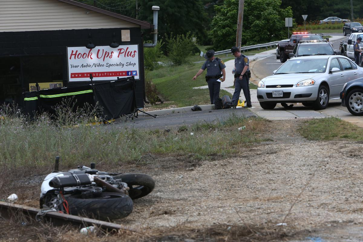 Motorcyclist's fatal crash in Christiansburg ends state police chase