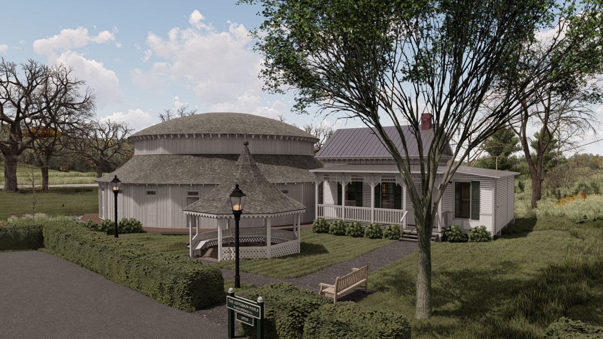 Jefferson Pools renovation rendering 1