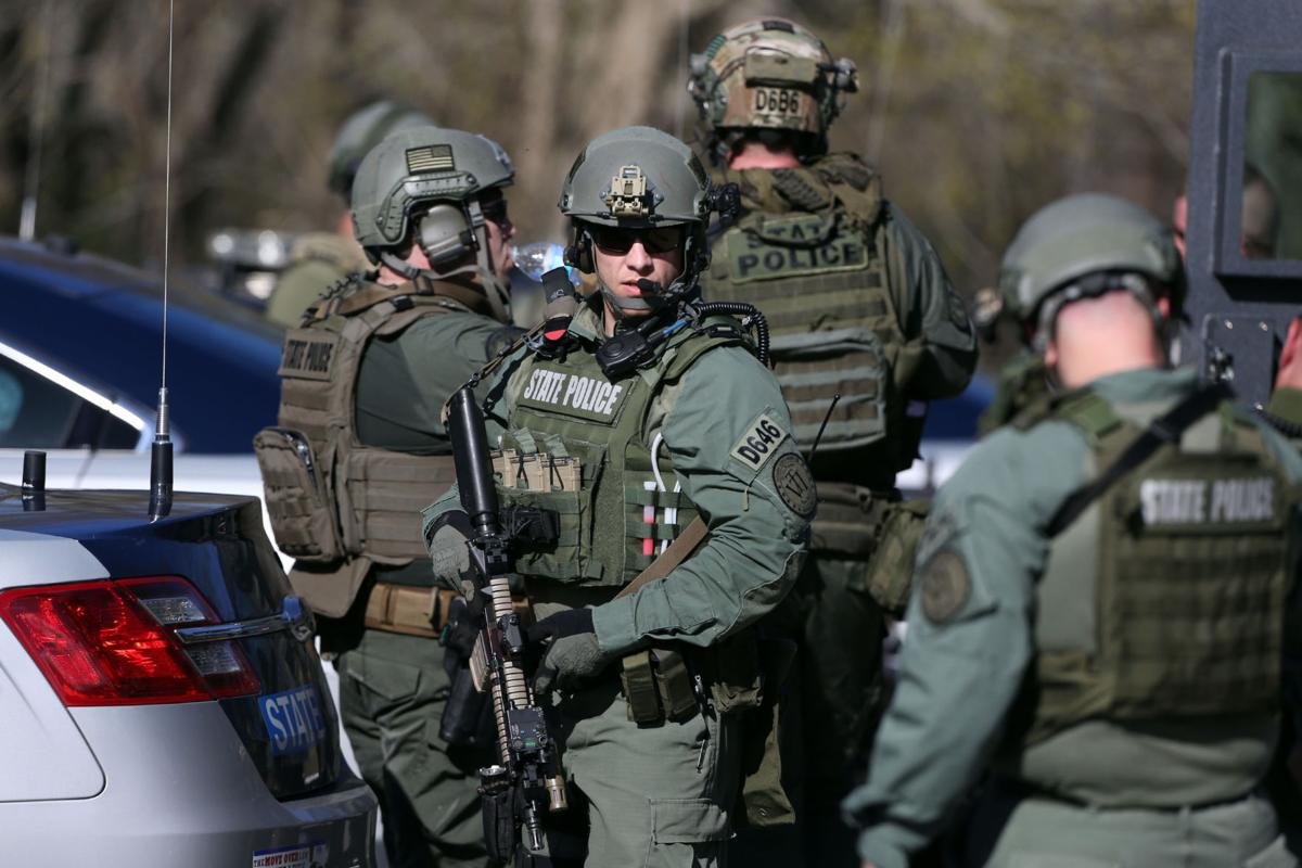 State police tactical teams