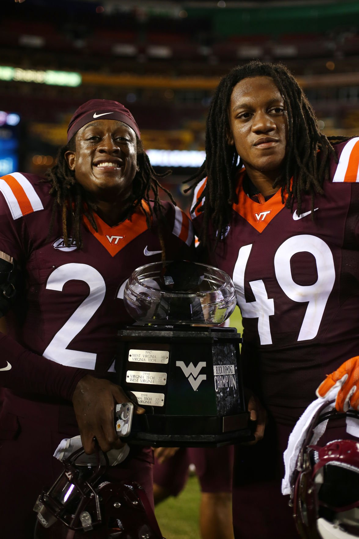 big sale 1a4e1 4bbf0 Tremaine, Terrell Edmunds first pair of brothers taken in ...