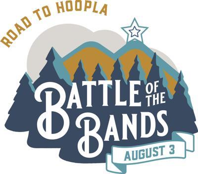Hoopla battle of bands logo