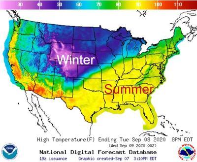 Temp map Tuesday 090720