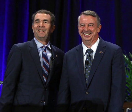 Monmouth Poll: Gillespie, Northam tied in Virginia Governor Race