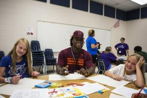 hokies help students deal with conflict roanoke times christiansburg news. Black Bedroom Furniture Sets. Home Design Ideas