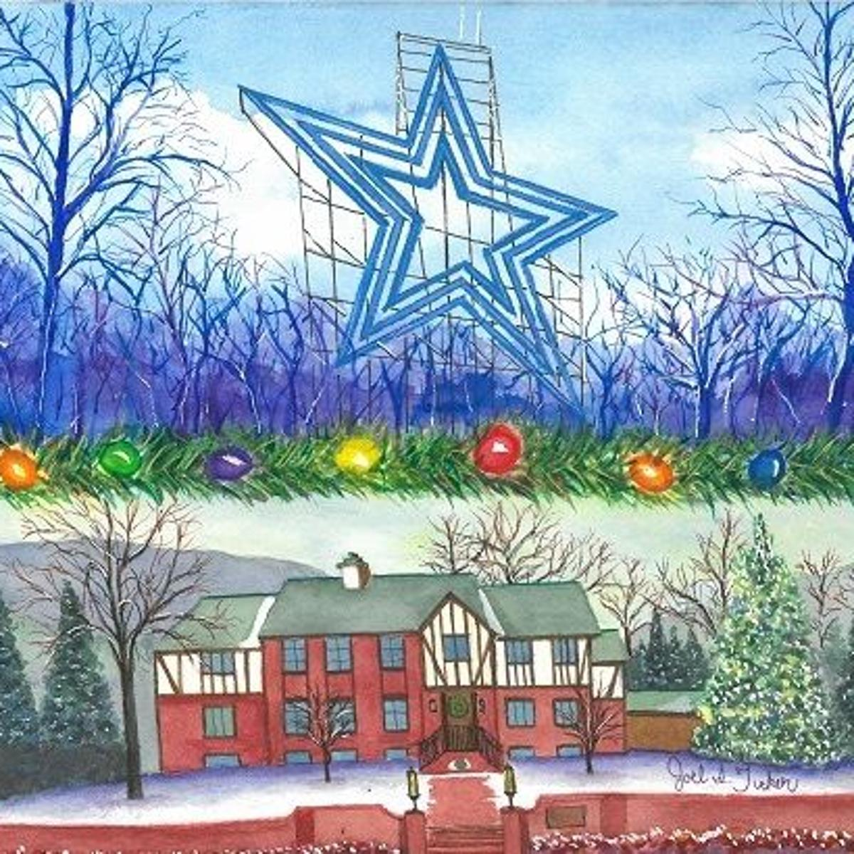 Gift local: 2014 Ronald McDonald holiday cards feature Mill Mountain on