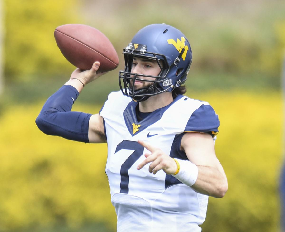 be2078814 QB Will Grier gives West Virginia football new look as it prepares ...