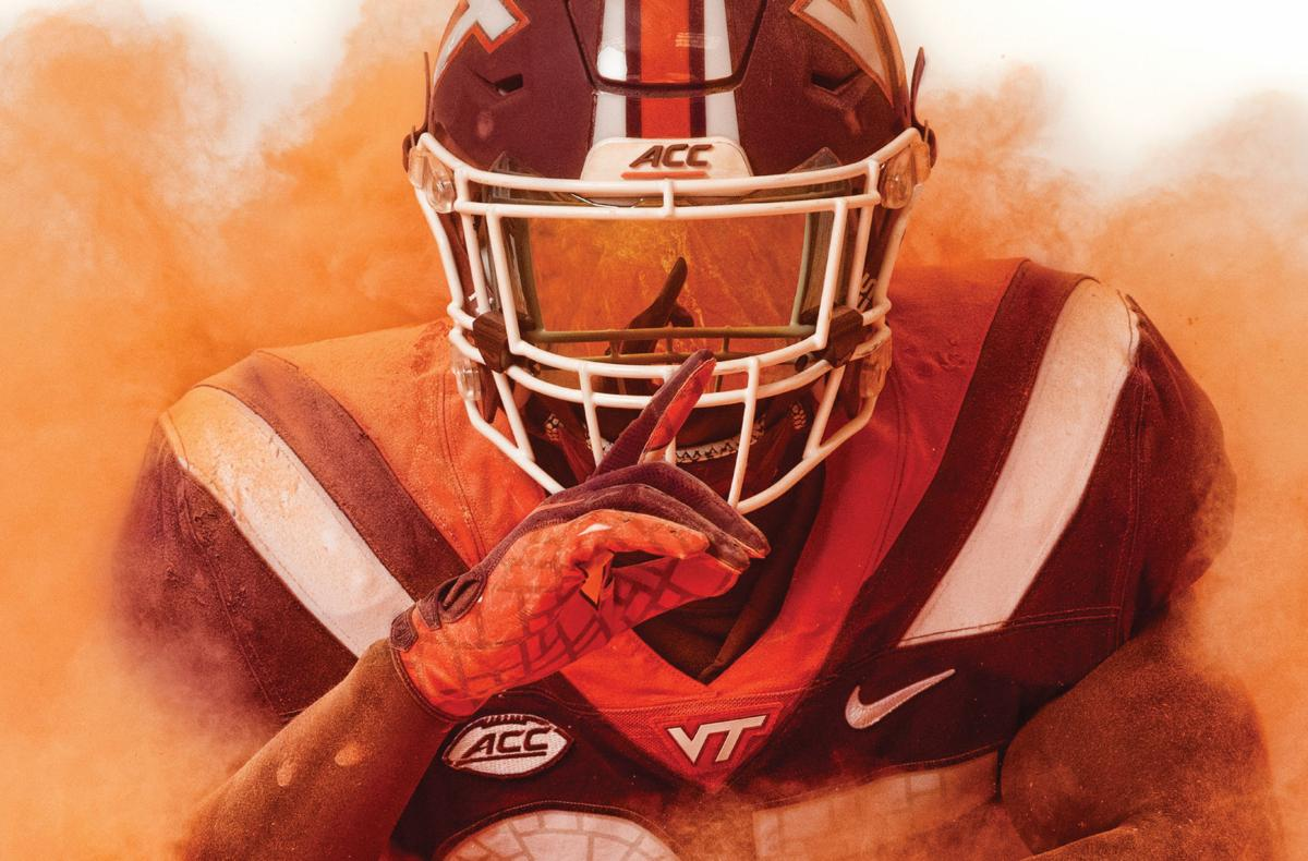 Virginia Tech football poster