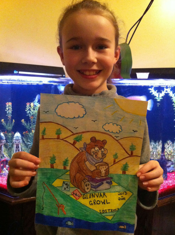 Hailey Bryant Wins Yearbook Cover Contest At Glenvar