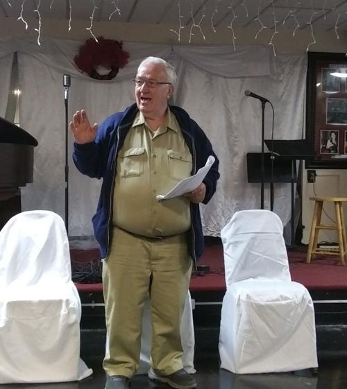 Bill Meade performing in Baltimore.