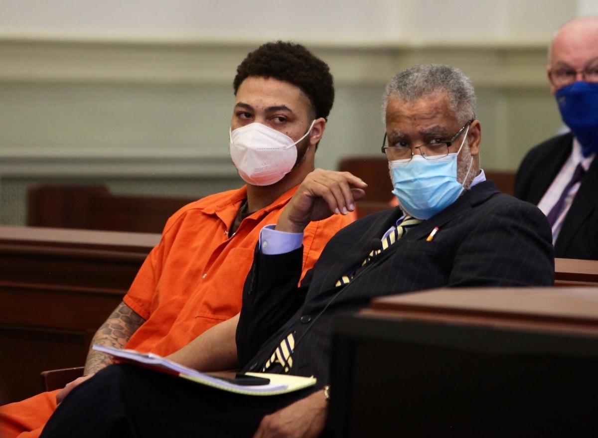Qu'Shawn Manns courtroom