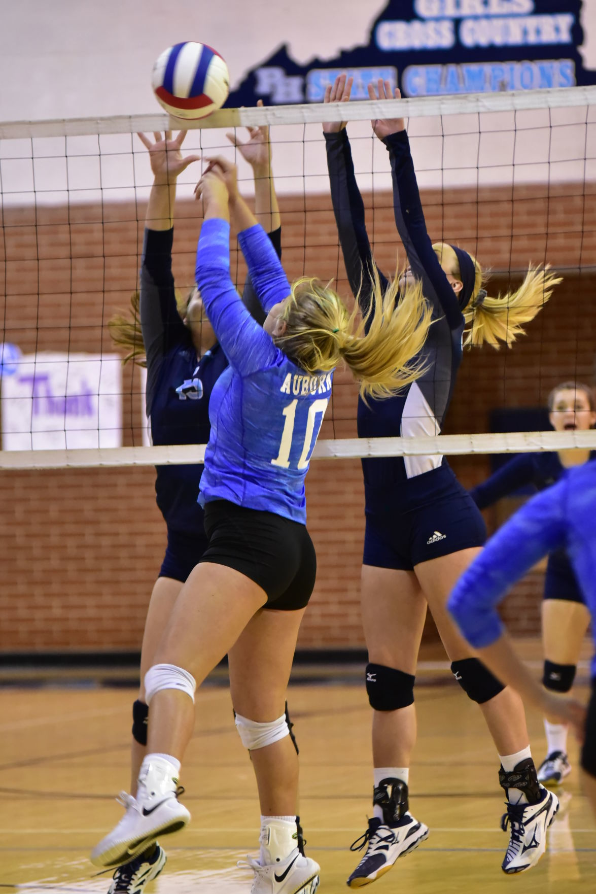 Hs Volleyball Ph Glade Spring Beats Auburn In 4 Sets To Reach