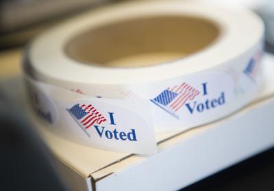 Stockart voting stickers