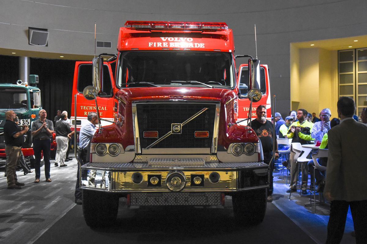 Volvo Truck Parts >> Volvo Trucks Donates One Of A Kind Fire Truck To Pulaski County