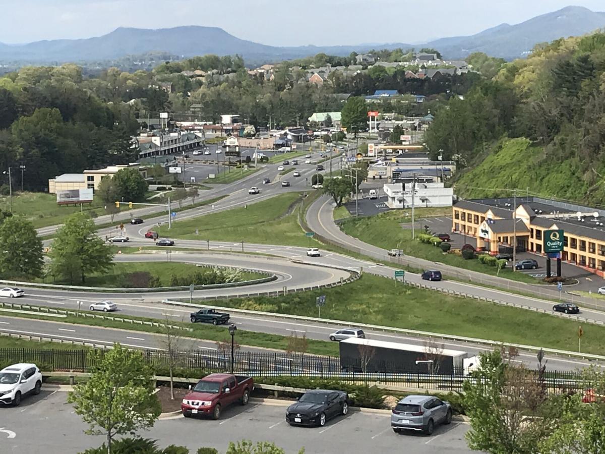 U.S. 220-Franklin Road interchange