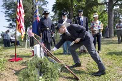 Former United States Colored Troops soldiers honored in