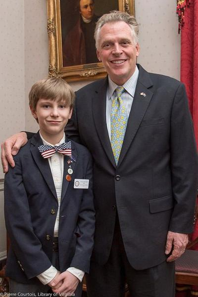 Fincastle 7th-grader serves as General Assembly page in