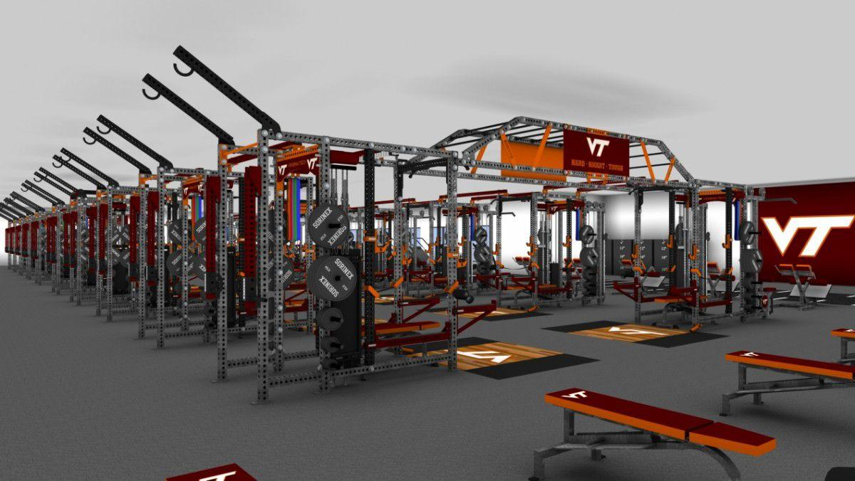 VT weight room