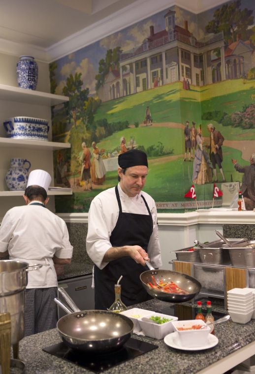 Hotel Roanoke Regency Room Lunch Buffet