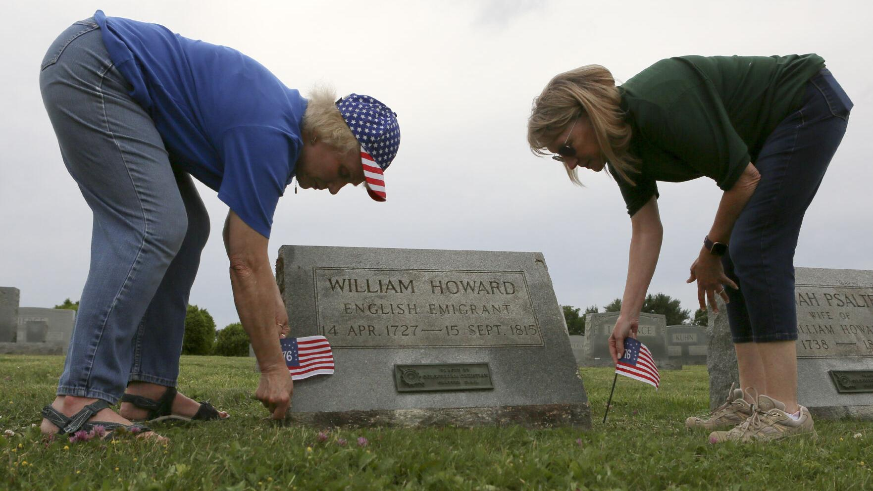 A Flag Day find: Revolutionary patriots to be honored