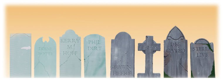 diy tombstones turn your yard into a graveyard for halloween arts entertainment roanokecom