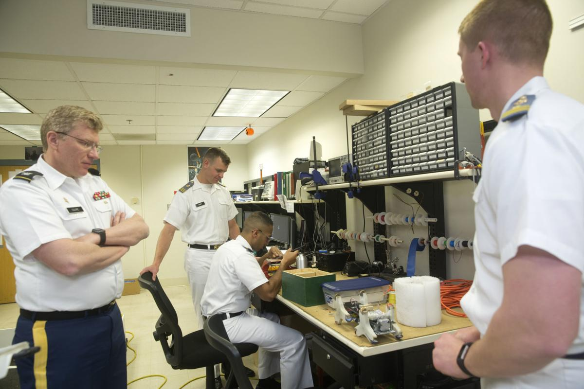 VMI cadets build 11-foot robot for Mars Rover competition | Gallery