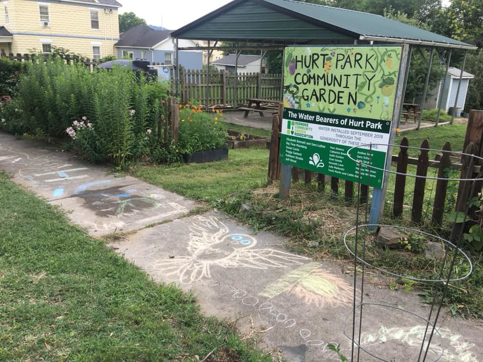 Hurt Park garden