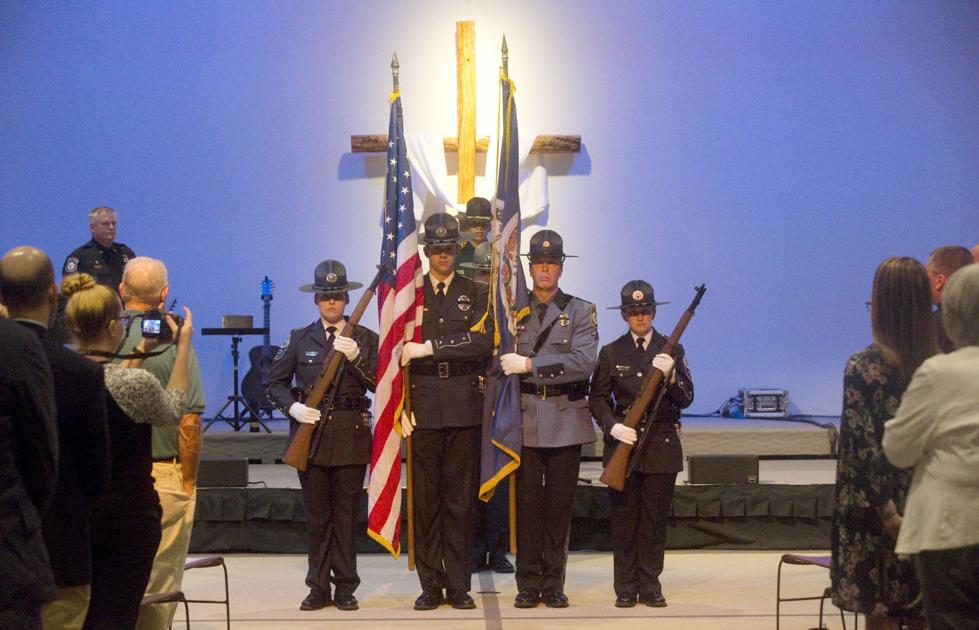 Memorial service honors fallen law enforcement officers