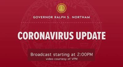Northam Coronavirus Update Livestream Screenshot