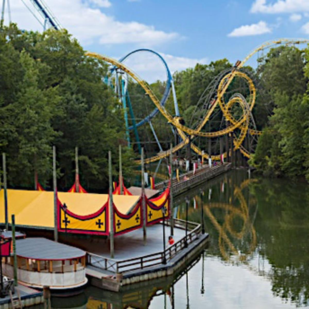 Busch Gardens To Open Parks First Wooden Coaster In 2017 And The