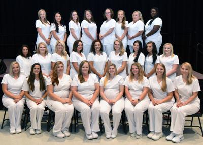 Practical Nursing Graduation Group Photo 1