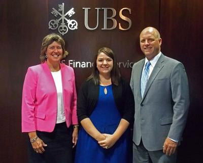 Hoffman, Mitchell earn promotions at UBS Financial Services