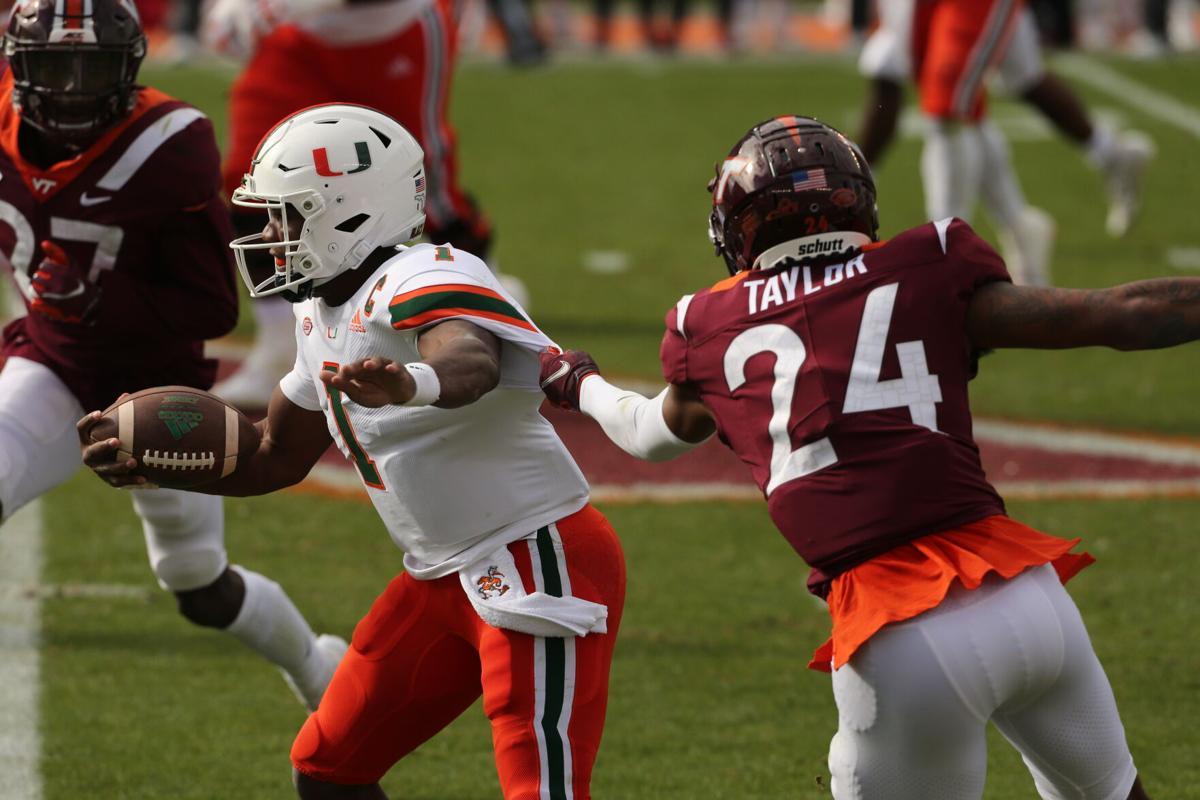 Miami at Virginia Tech
