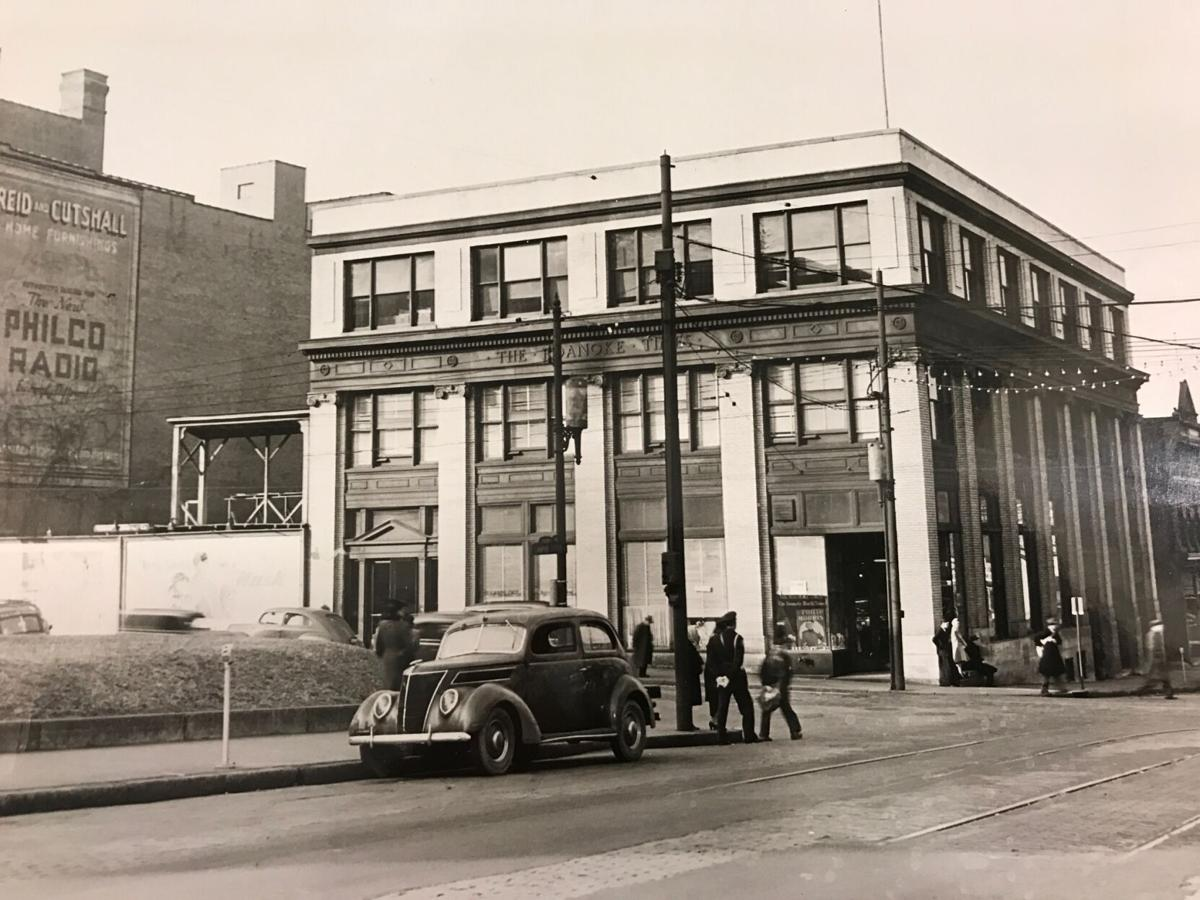 Roanoke Times historical 201 W. Campbell Avenue