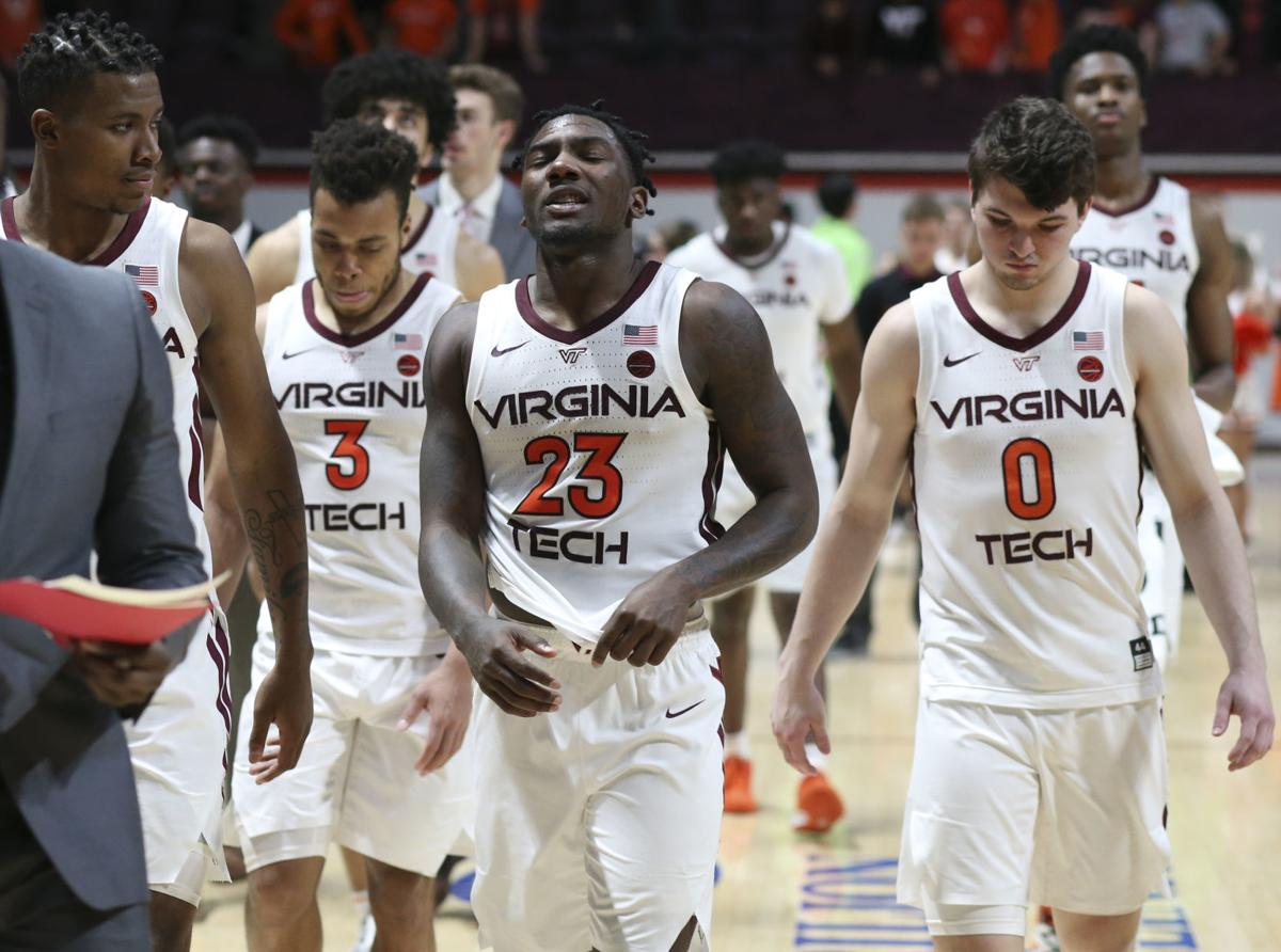 Exhausting Triple Ot Loss To Miami Has Rough Ending For Virginia Tech Men S Basketball Team Virginia Tech Roanoke Com