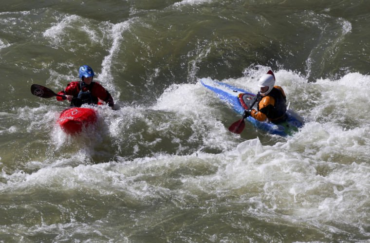 Kayaking Goshen Pass, a chill and a thrill a minute on Maury River