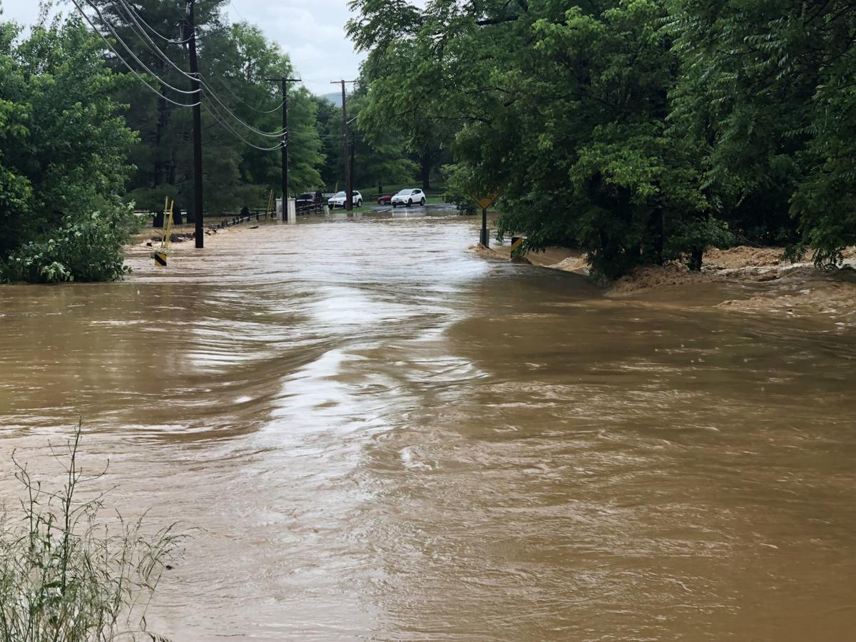 Rental Cars Roanoke Va: Flooding Hits Cave Spring Area Of Roanoke County