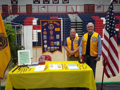 The local Lions Club booth at the White House Business Expo kicked off their annual fundraiser breakfast planned for June 29 at Colorado Grill. PAULA ELLER