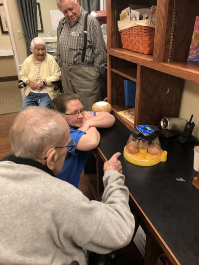 Chicks fascinate all ages at Morningside