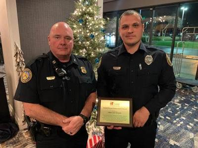 Springfield officer recognized