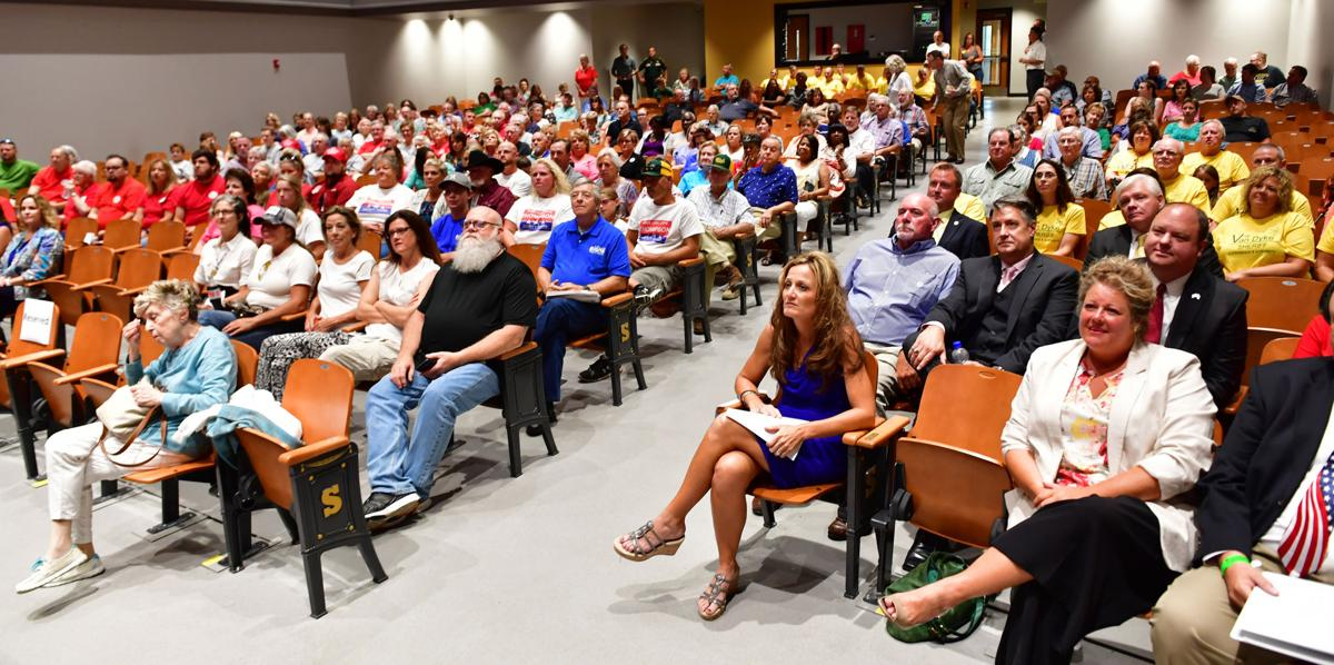 Changing of the guard in Robertson County brings big crowd to candidate forum