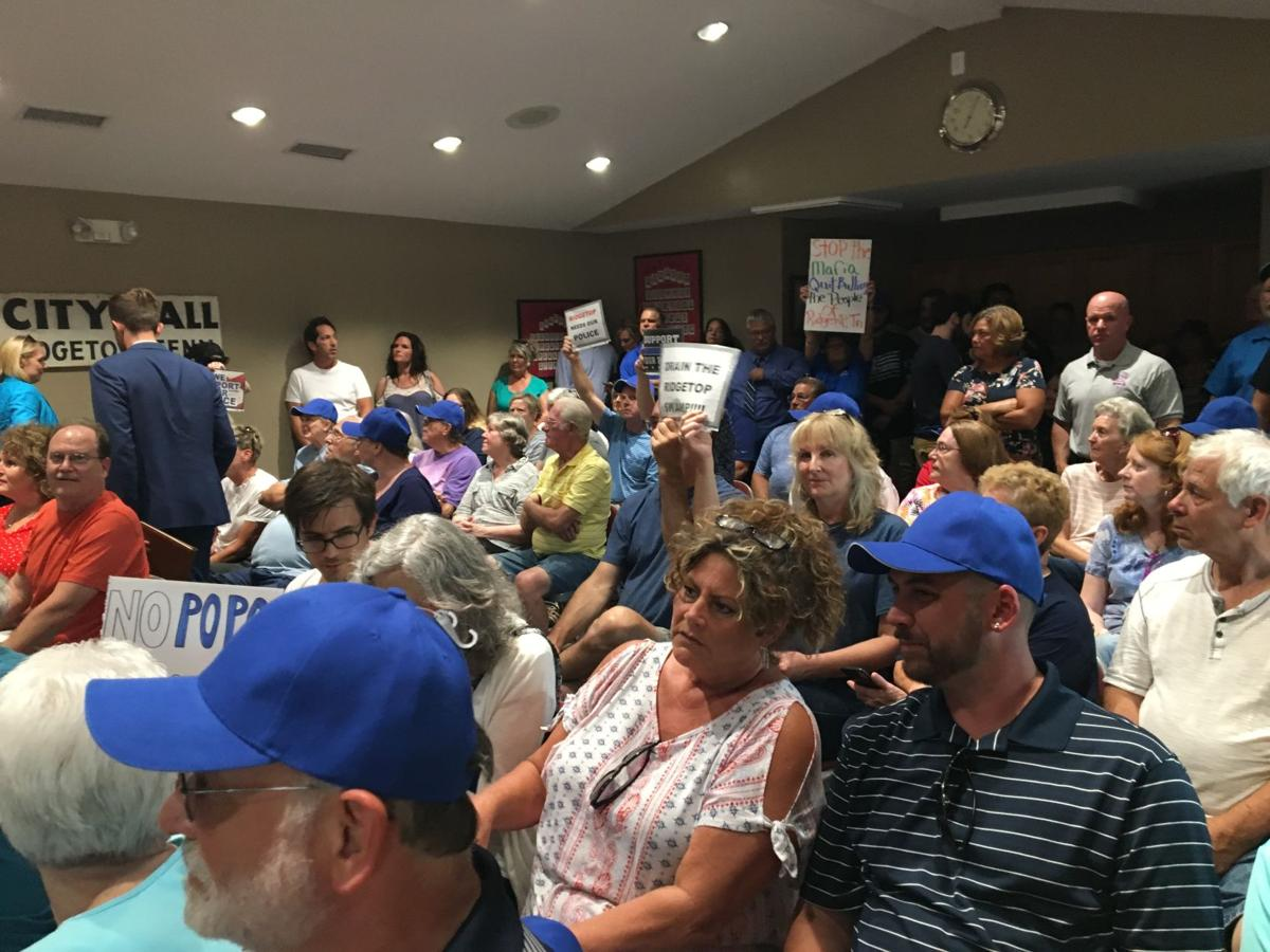 Ridgetop residents call for police support