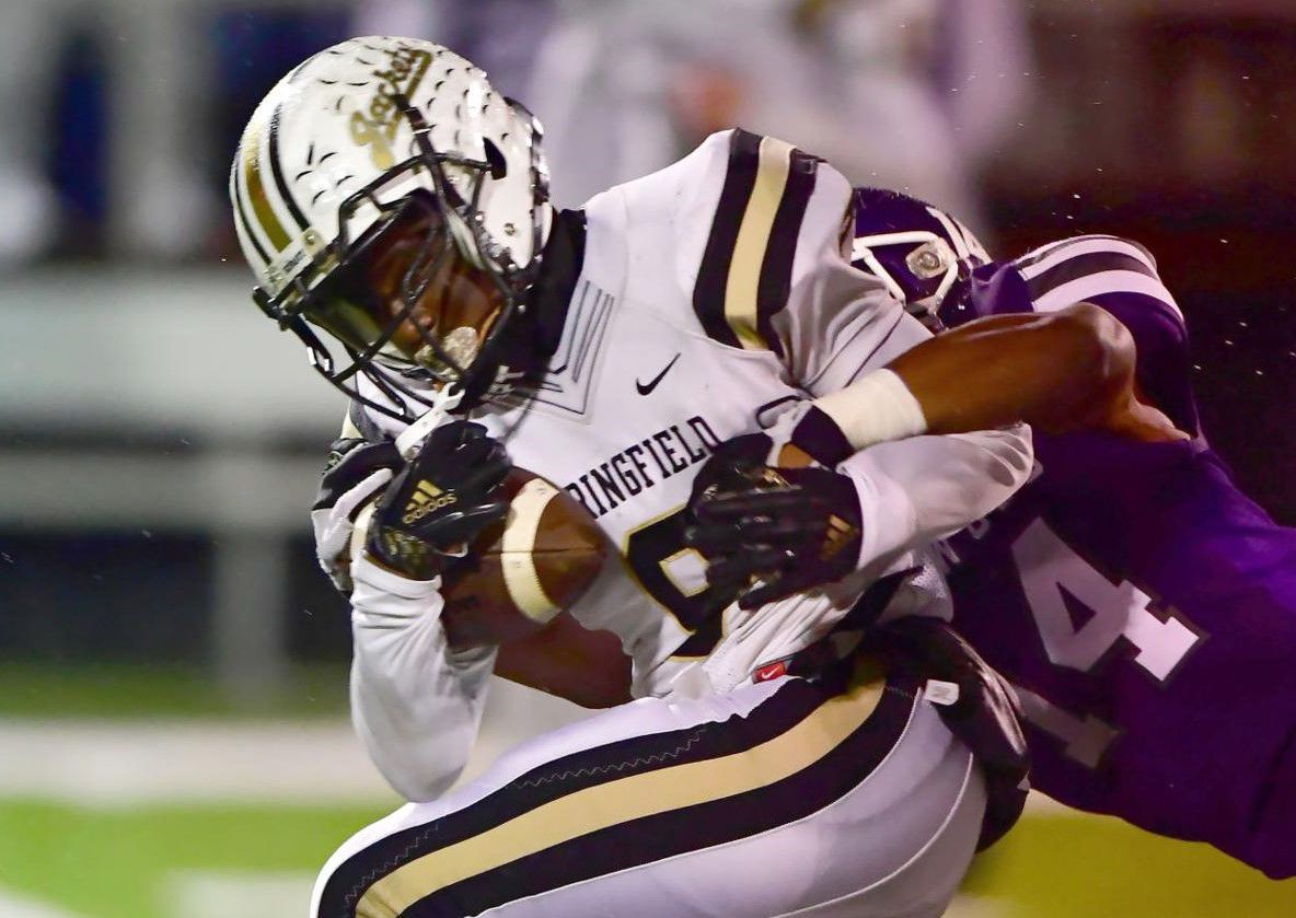 Kevontay White could play tailback or receiver for the Springfield..jpg