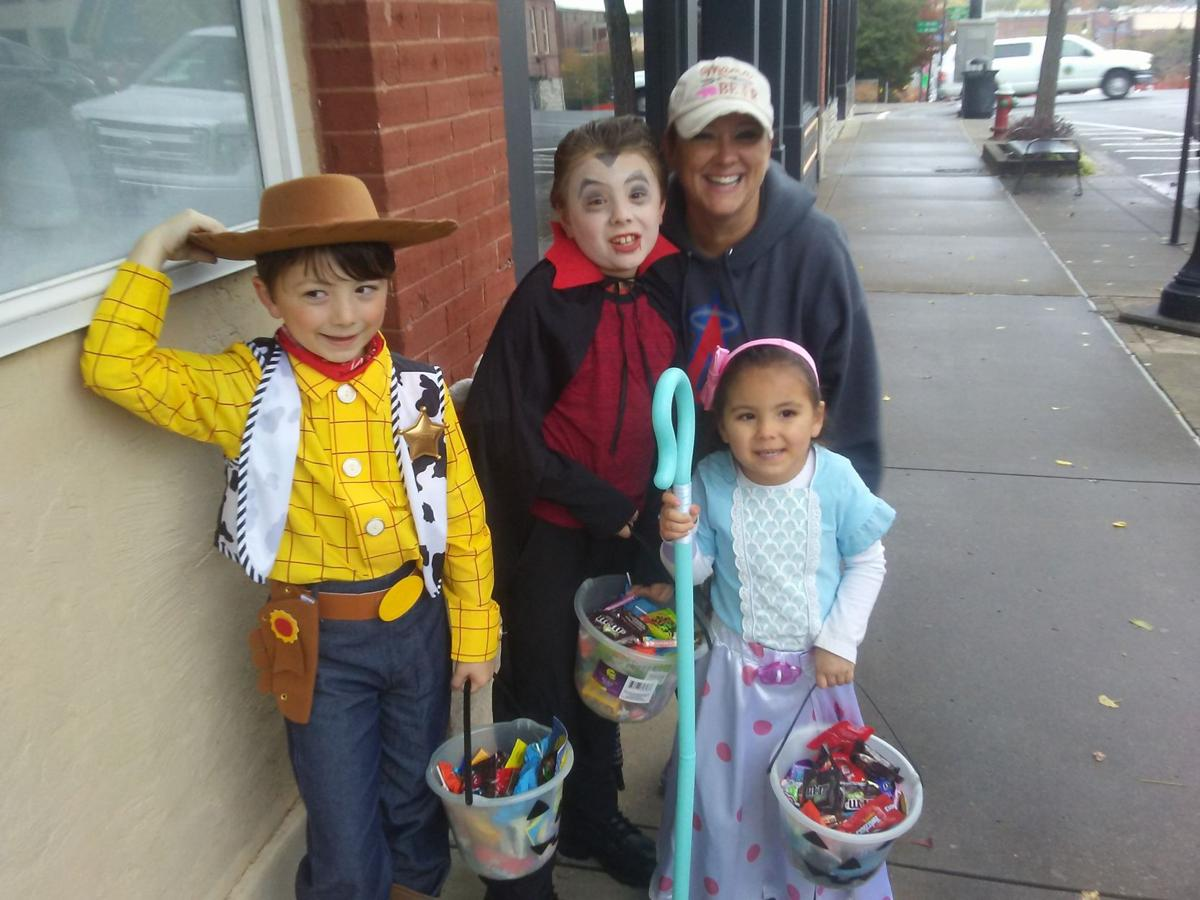 Trick or Treaters on the Square.jpg