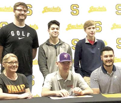 Springfield High School senior Brandon Rice (front row center) will play golf at Missouri Valley College next year. TYLER GRAVES