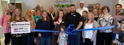 Luna Rose Co. ribbon cutting