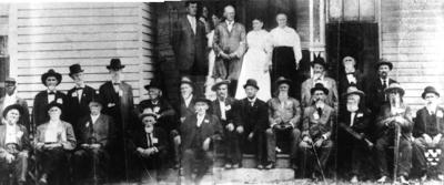 A Civil War reunion at an early tavern. SUBMITTED
